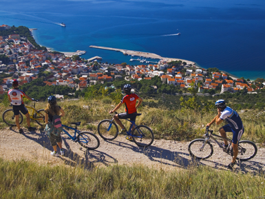 cycling Makarska Riviera
